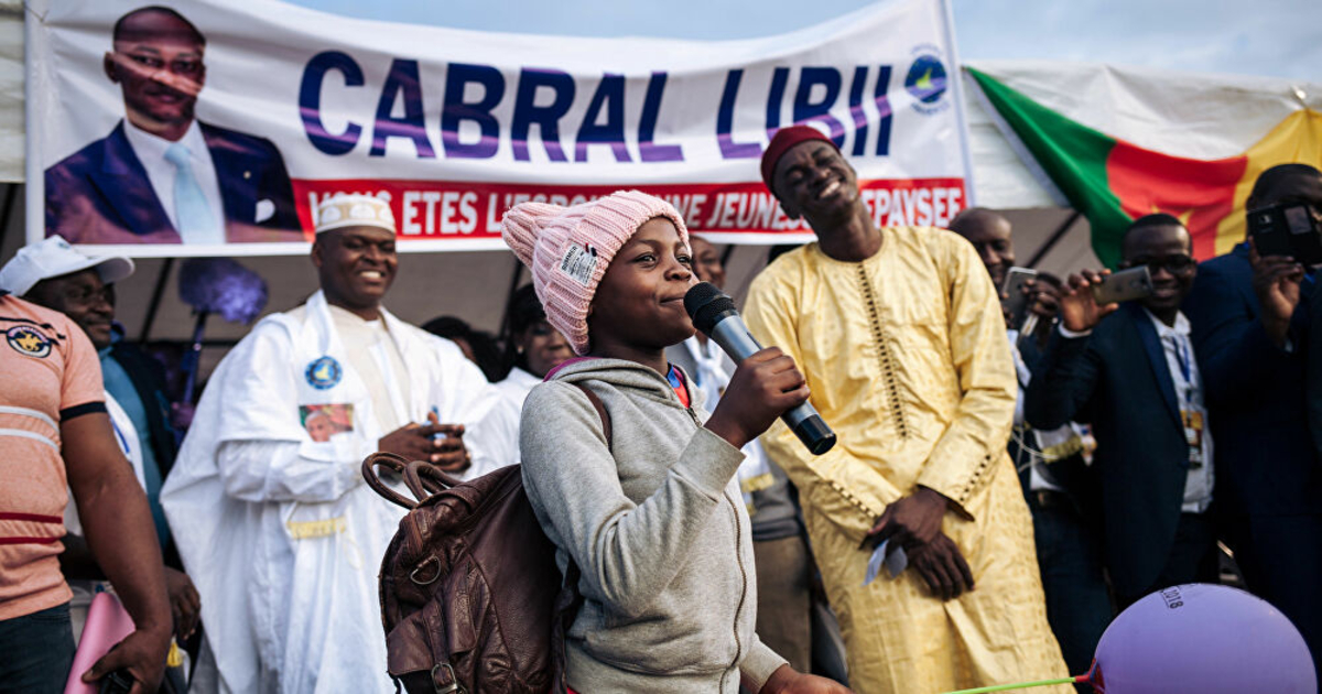 cabral Libii; candidat; elections; Cameroun: 2025